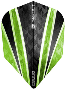 Target Vision Ultra Clear Green 4 Sail Dart Flights