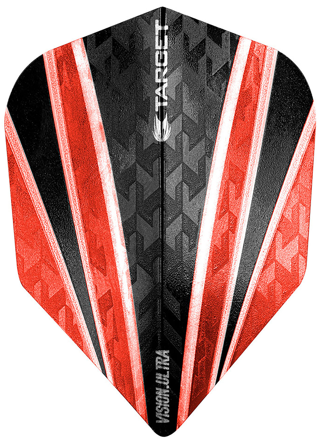 Target Vision Ultra Clear Red 4 Sail Dart Flights