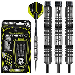 Winmau Michael van Gerwen Darts - Steel Tip - 90% Tungsten - MvG - Authentic - 22g to 26g