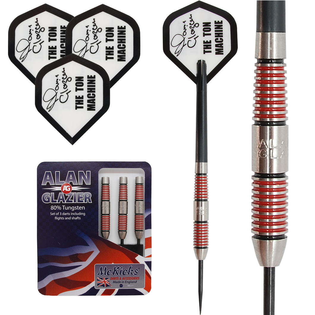 Alan Glazier 'Ton Machine' Tungsten Darts