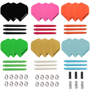Amazon Dart Flights, Dart Shafts, Springs & Flight Saver Kit