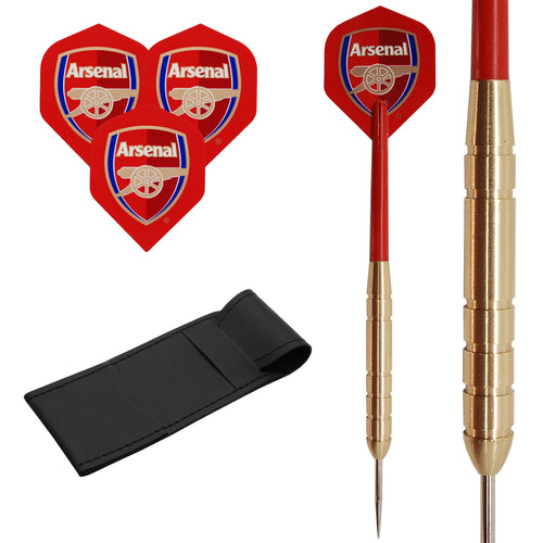21g Red Arsenal Brass Darts