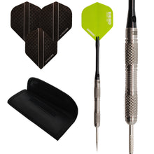 Avalanche - 90% Tungsten Darts Set - Flights - Stems - Case - 23g 25g