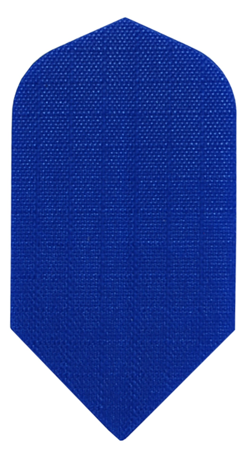 Blue Fabric Slim Dart Flights