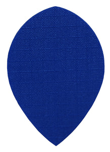 Blue Fabric Pear Dart Flights
