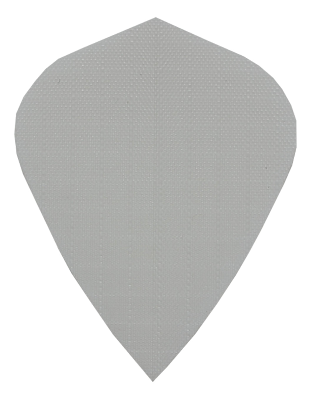 White Fabric Kite Dart Flights