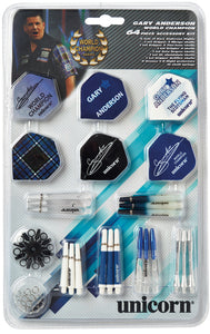 Unicorn Gary Anderson Tune Up Kit - 64 Pieces