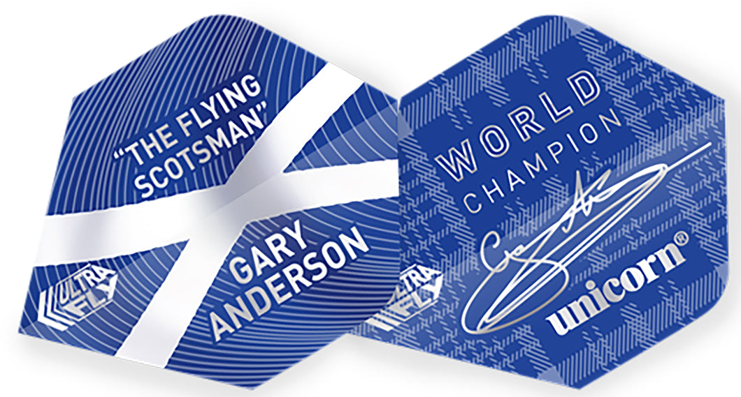 Unicorn Gary Anderson World Champion Ultra Fly.100 Plus Shape Flights