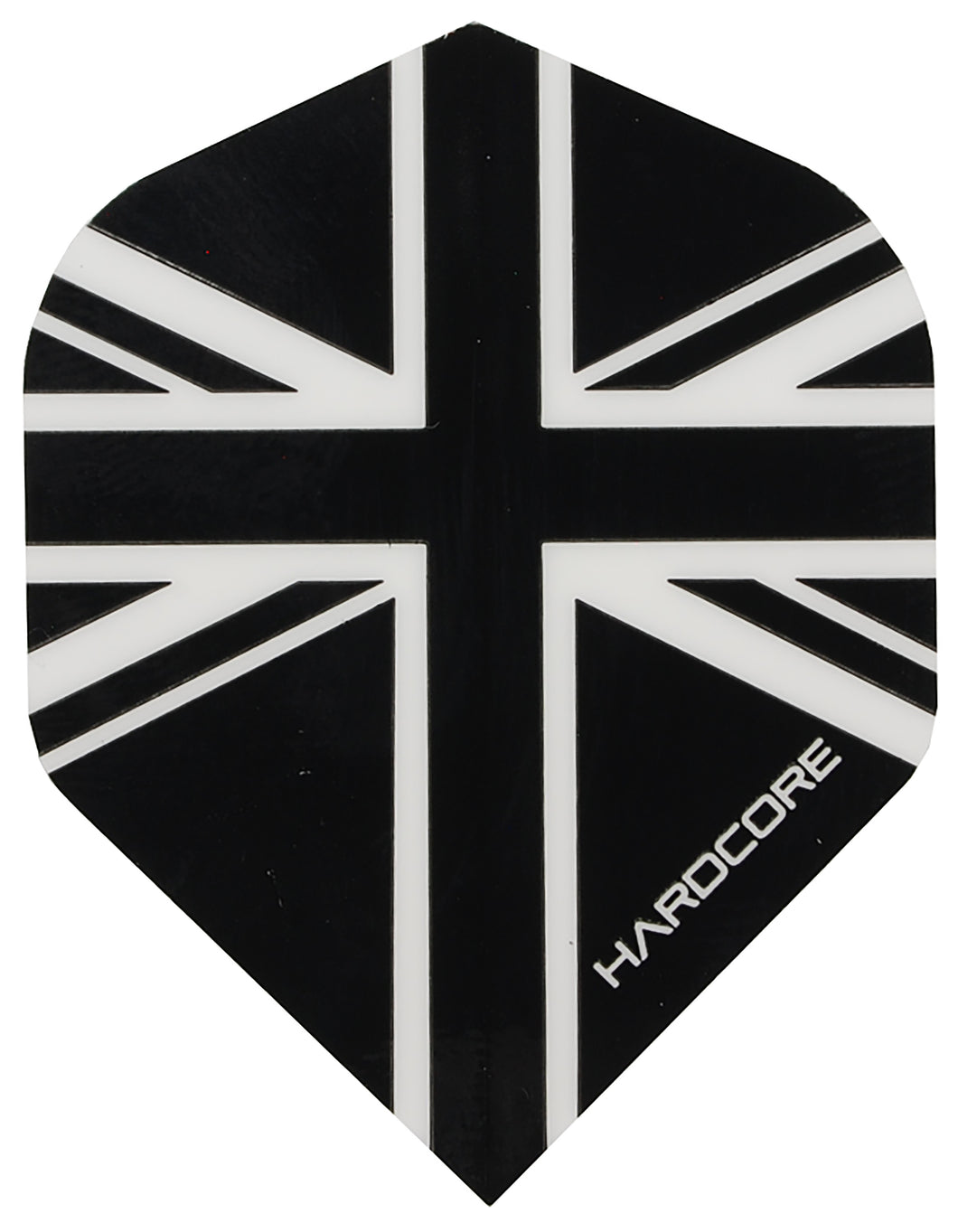 Hardcore Black Union Jack Flights