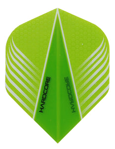 Hardcore Wing Green Dart Flights