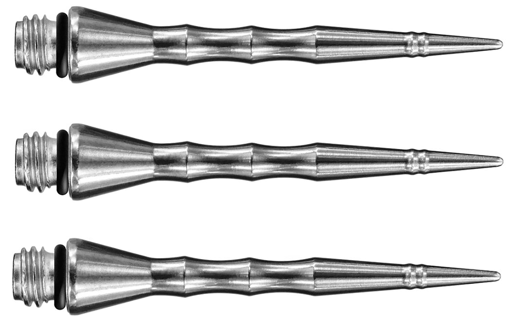 Harrows Sabre Conversion Dart Points - For Soft Tip Darts - 35mm - Silver