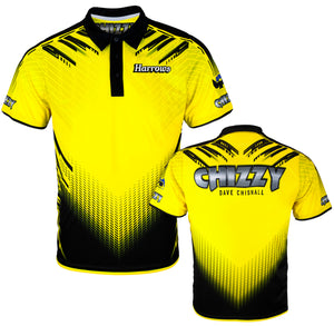 Dave Chisnall Official Darts Shirt - Breathable - Small to 5XL - Chizzy