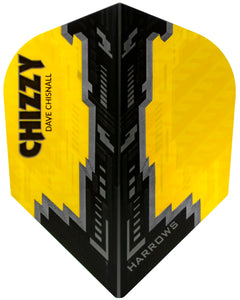 Harrows Prime Dart Flights - 100 Micron - Extra Strong - Std - Chizzy 1 - Dave Chisnall