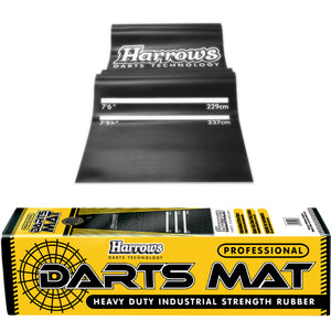 Harrows Heavy Duty Rubber Dart Mat - 10kg - Oche Mat