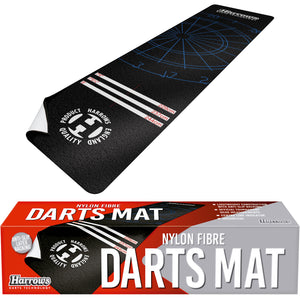 Harrows Nylon Fibre - Soft Feel - Dart Mat - Non Slip