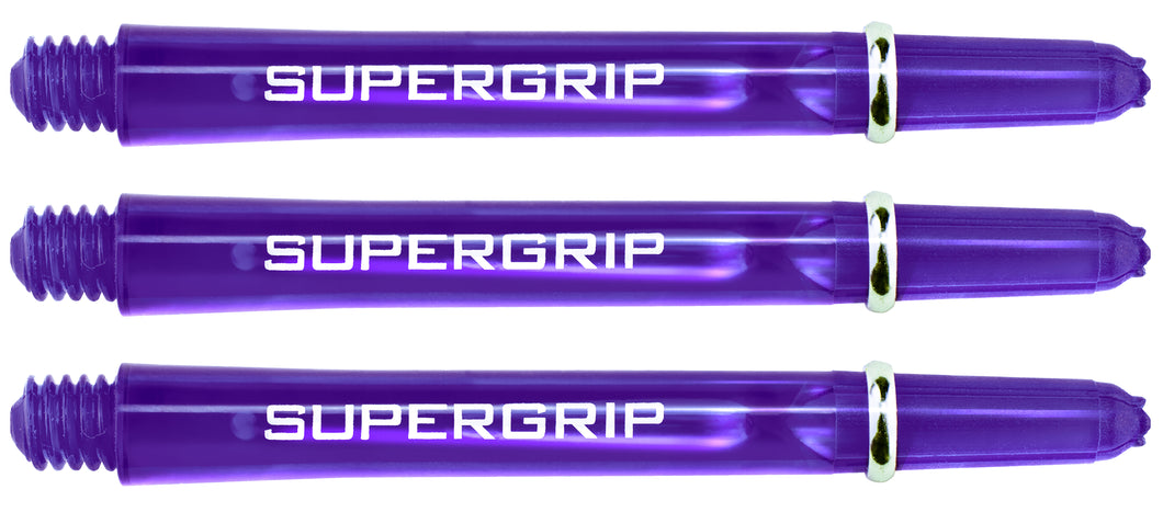 Harrows Supergrip Dart Shafts - Dark Purple