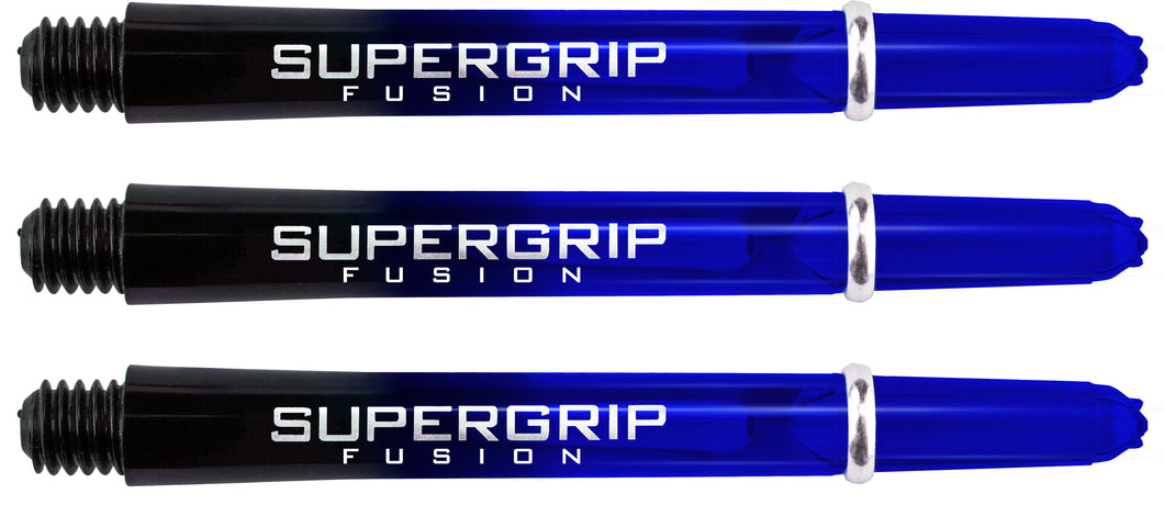 Harrows Supergrip Fusion Dart Shafts - Black & Blue
