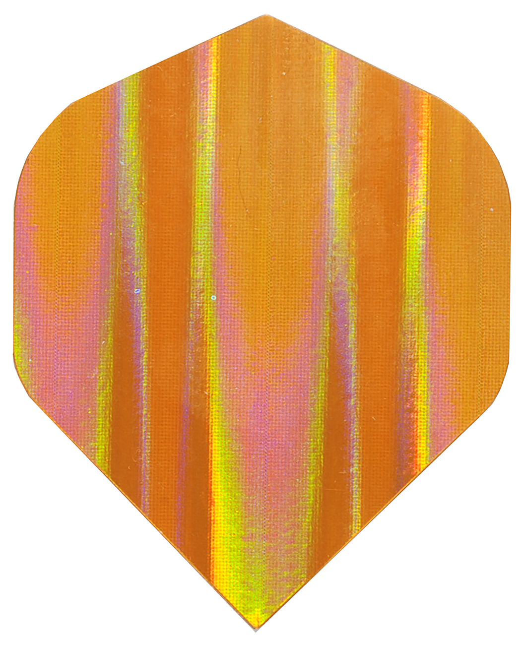 Plain Orange Holographic Flight