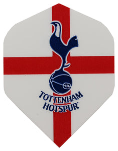White Tottenham Hotspur Football Dart Flights