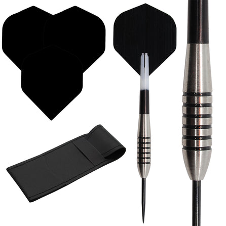 Bomber 1 - 85% Tungsten Darts - Flights - Stems - Case - 19g to 32g