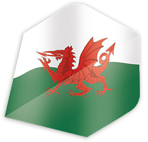 Unicorn Maestro.100 Wales Flag Plus Shape Flights