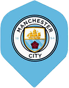 Man City FC Football Dart Flights