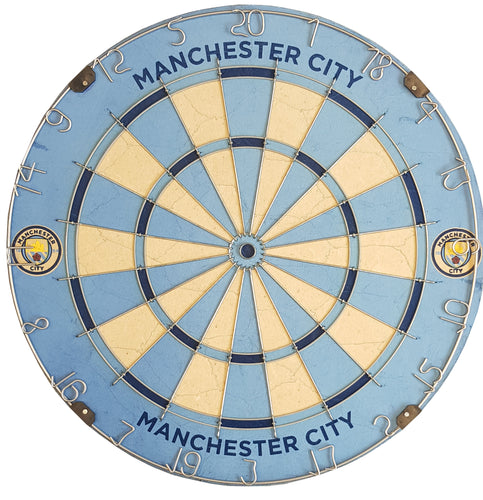 Official Manchester City FC Football Club Dartboard