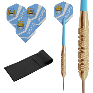 23g Manchester City Brass Darts
