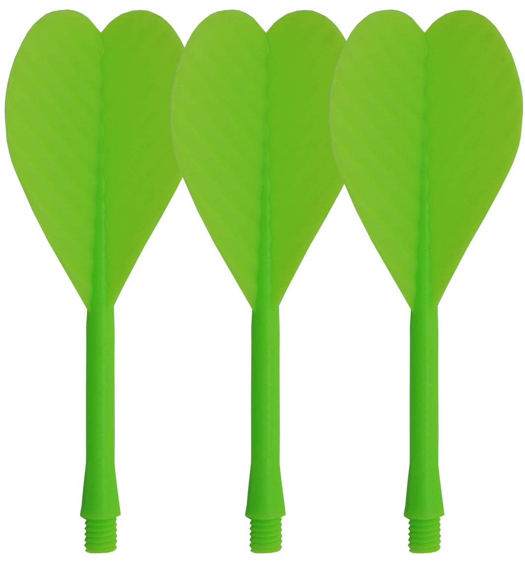 All In One Bar Dart Flights & Stems - Green