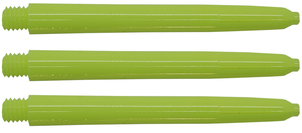 Neon Yellow Nylon Dart Shafts