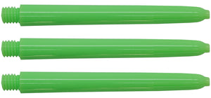 Neon Green Nylon Dart Shafts