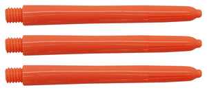 Neon Orange Nylon Dart Shafts