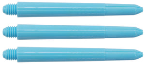 Pastel Blue Nylon Dart Shafts