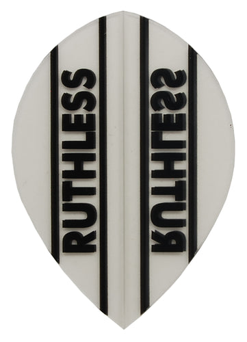 Clear Ruthless Pear Dart Flights