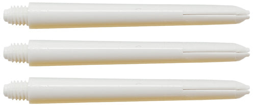 Plain Nylon White Dart Shafts