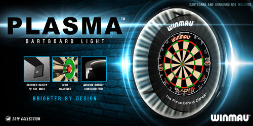 Winmau Plasma LED Dartboard Lighting System - 2000 Lumens - Zero Shadow