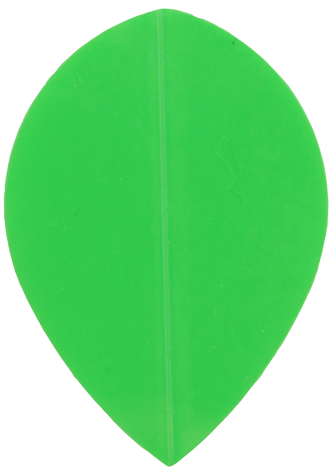 Poly Neon Green Pear Shape Dart Flights