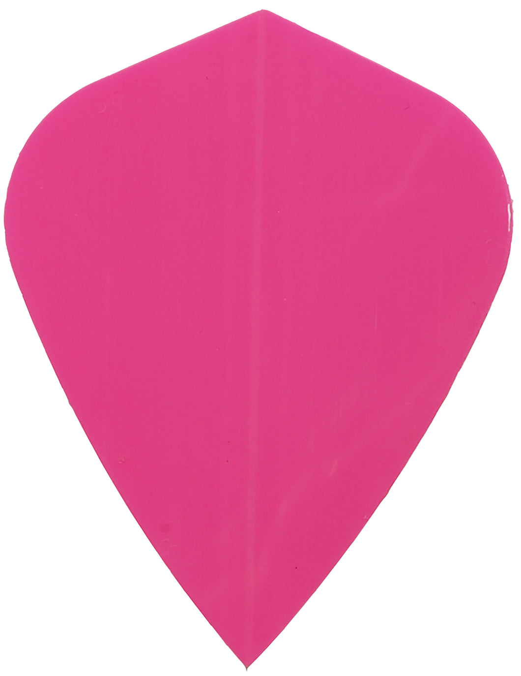 Poly Neon Pink Kite Shape Dart Flights