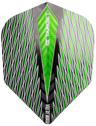Target Quartz Vision Ultra Green No6 Dart Flights