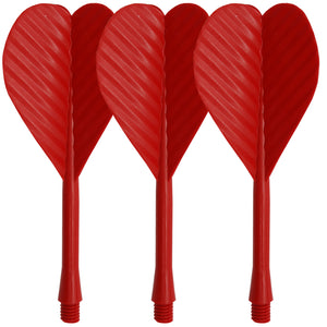 All In One Bar Dart Flights & Stems - Red