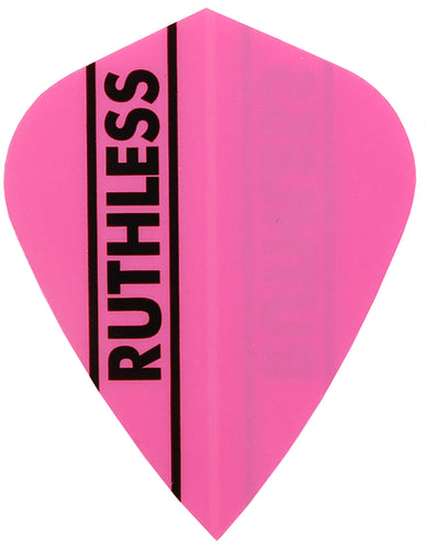 Pink Ruthless Kite Shape Dart Flights
