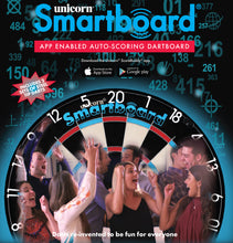 Unicorn Smartboard - App Enabled Dartboard - Bluetooth Auto Scoring