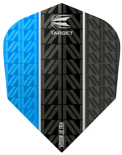 Target Vapor 8 Black Vision Ultra Blue No.6 Flights