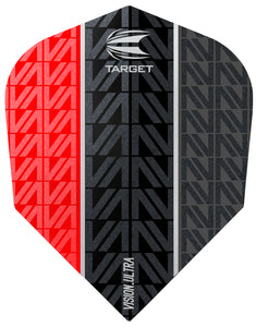 Target Vapor 8 Black Vision Ultra Red No.6 Flights