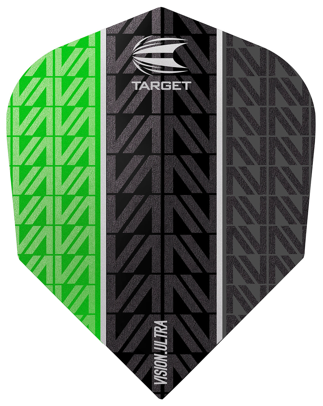 Target Vapor 8 Black Vision Ultra Green No.6 Flights