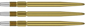Target Swiss Points - Plain - Gold Points - 26mm & 30mm