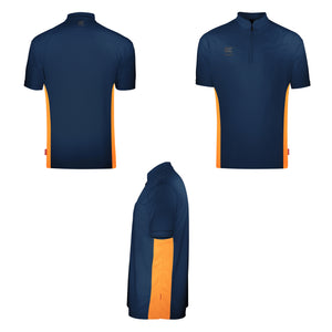 Target CoolPlay - Collarless - Blue & Orange - Dart Shirt