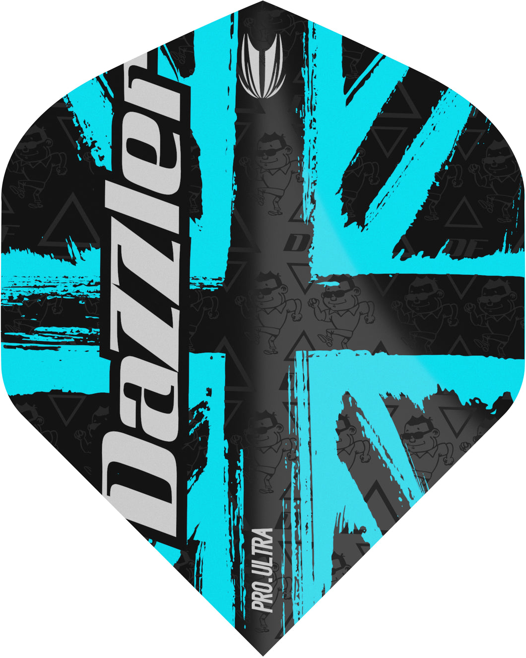 Target Darryl Fitton - Dazzler - Gen 2 - Pro Ultra - No2 Standard - Dart Flights