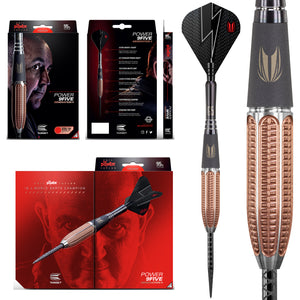 Target Phil Taylor Power 9Five Gen 5 95% Tungsten Darts - 22g 24g 26g