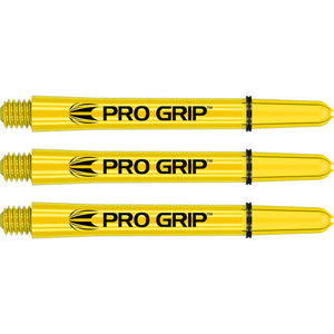 Target Pro Grip Shafts - Yellow - Stems with Pro Grip Rings